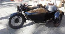 Velocette & Sidecar